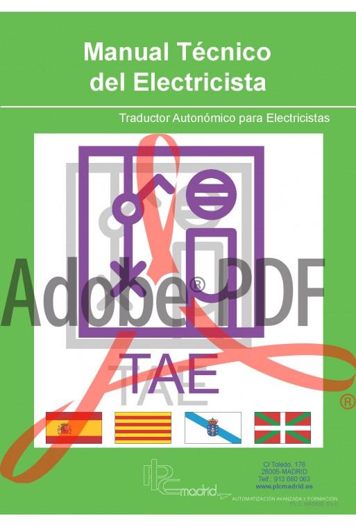 Manual técnico - Traductor autonómico para electricistas (Formato PDF)