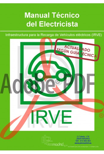 Manual Técnico del Electricista - ITC-52 Infraestructura para la Recarga de Vehículos Eléctricos (Formato pdf)