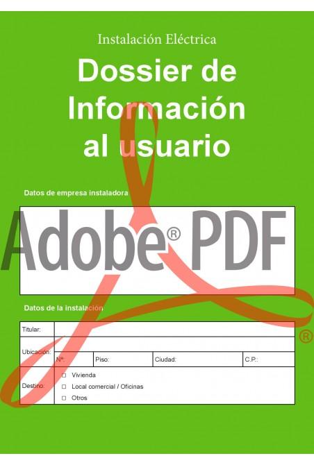 Dossier de información al usuario (formato pdf)