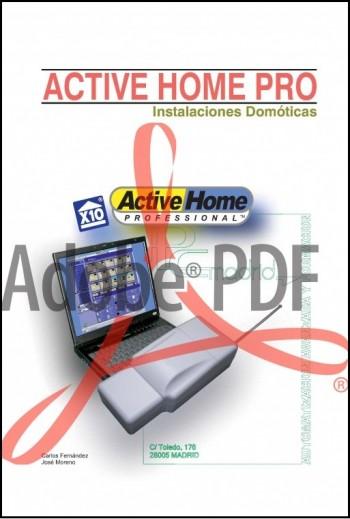 Instalaciones domóticas corrientes portadoras X-10 manual activehome pro (Formato pdf)