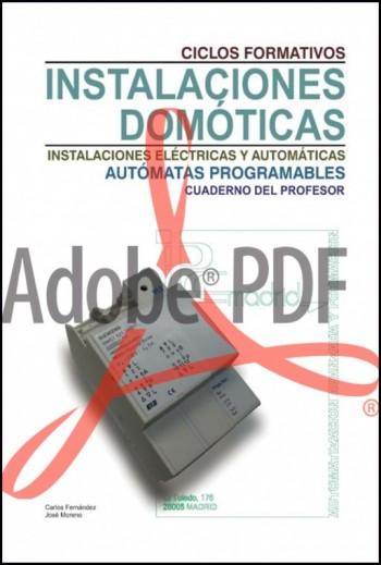 Instalaciones domóticas Bus de comunicaciones KNX - Cuaderno del profesor (Formato pdf)