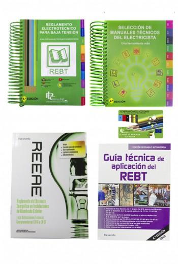 REBT + GUIA REBT + SELECCION DE MANUALES + REEAE