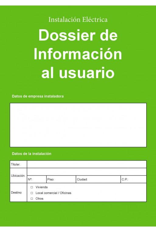 Dossier de información al usuario
