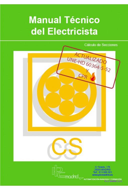 Manual Técnico del Electricista - Cálculo de Secciones Actualizado UNE-HD 60364-5-52