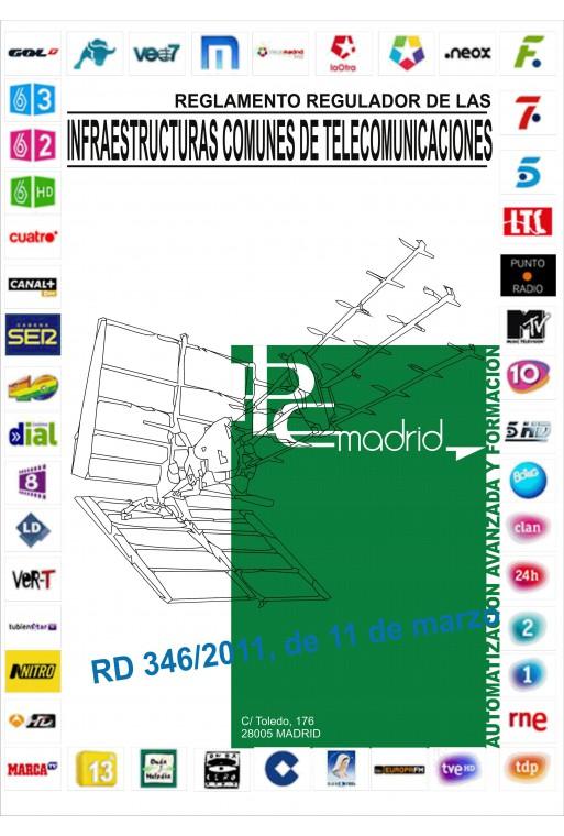 Reglamento de las infraestructuras comunes de telecomunicaciones (Formato pdf)
