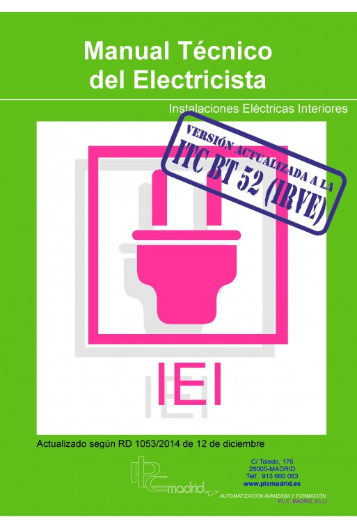 Manual técnico del electricista instalaciones de interior