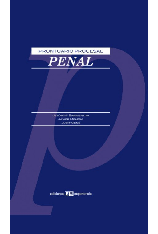 Prontuario Procesal Penal