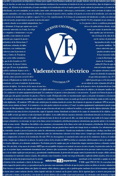 VADEMÉCUM ELÉCTRICO