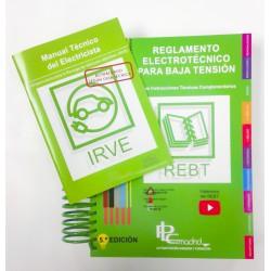 Reglamento Electrotécnico para Baja Tensión Actualizado por PLC Madrid 3º Edición (REBT)